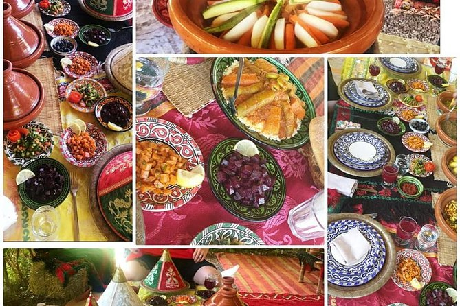 MAIS FOTOS, Organic Moroccan Cooking Class with chef TARIK