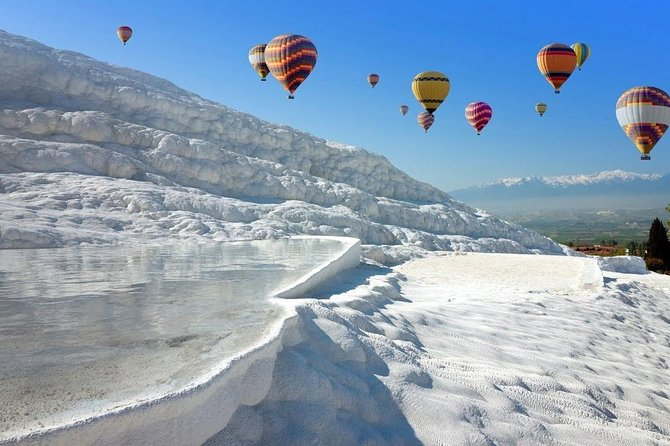 Daily Pamukkale Tours with Balloon Ride from Istanbul, Full Day, Small Group Tour.