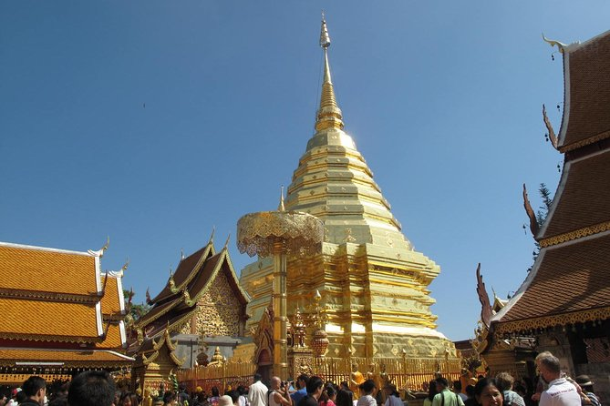 Doi Suthep Temple and Hmong Tribe Village (Doi Pui) Half Day Tour Small-Group, Chiang Mai, Tailândia
