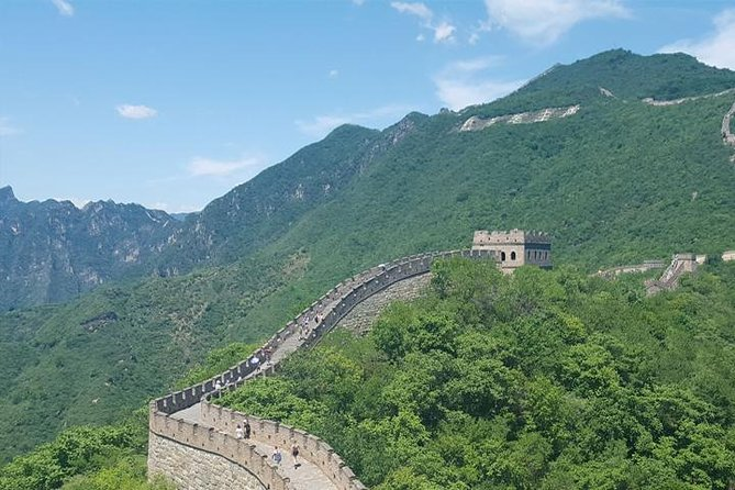 The private tour covers the trip to Mutianyu Great Wall, Summer Palace and have a short exterior visit to the Birds Nest, water cube - the main Olympic Stadium now being built for the 2008 Olympic Games., enjoy your own car or van with your own tour guide and driver.
