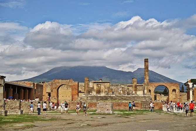 Pompei and Mt Vesuvio with winery teasting, Naples , ITALY
