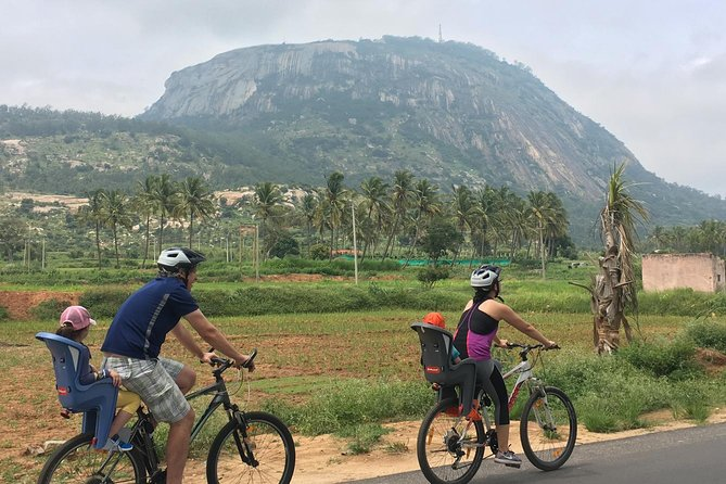 Rediscover the quaint countryside on the outskirts of Bengaluru biking past farm lands and historical monuments. This tour is designed to offer a blend of culture, history, nature, adventure and local interactions. Wind your way through the village and get an insight into the life of silk rearing farmers in the region, explore a 9th-century temple and visit a100-year-old quaint railway station listening to stories from this region.
