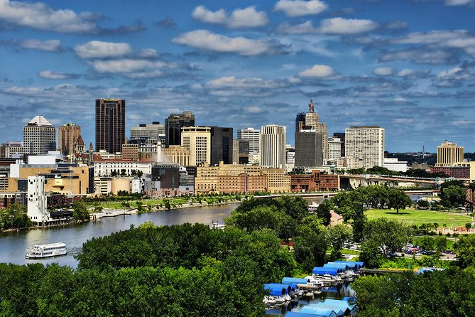 Take an educational and entertaining tour through the glass and steel of Minneapolis, the stately stonework of St. Paul and the neighborhoods in between with live narrative. This comprehensive tour of the Twin Cities has something for everyone! See the Twin Cities in a new light while on a spacious deluxe coach bus. <br><br>PICKUP LOCATION:<br>- Mall of America at 10:40am. <br><br>We depart from the charter/shuttle bus area, which is outside of the North Entrance of the Mall. The exact location can be found in the interactive map below.<br><br>We do offer 3 other pickup locations/times around the Twin Cities:<br>Marriott City Center (Downtown MPLS) at 9:30am<br>Hyatt Recency (Downtown MPLS) at 9:40am<br>InterContinental Hotel (St. Paul) at 11:10am<br><br>but these can ONLY be booked by contacting us directly at:<br>info@grayline-mpls.com or 952-985-7514<br><br>We do not allow for TripAdvisor reservations within 24 hours of each tour. Please call us for day-of bookings or any questions you may have!