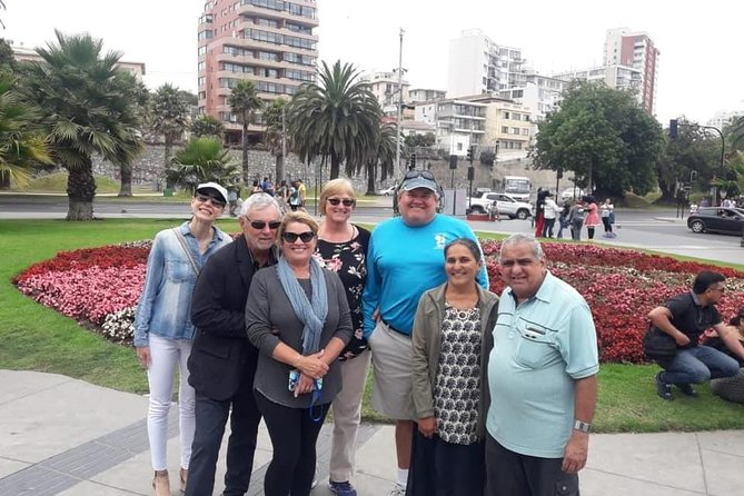 """A bilingual guide will meet you at your cruise port in San Antonio or hotel and take you on your excursion.Thisexcursion includes wine tasting at winery.This full day tour also visitsthe beautiful port city of Valparaiso, where you will get a chance to explore its colorful hills, famous street art and get a chance toride the historic funiculars. You will also enjoy a seaside lunch before heading to the city of Viña del Mar to go see the beautiful """"Flower Clock."""" You will also get a chance to see a real Eastern Island Moai and take a relaxing walk on the white sanded beach before heading backto the pick-up."""