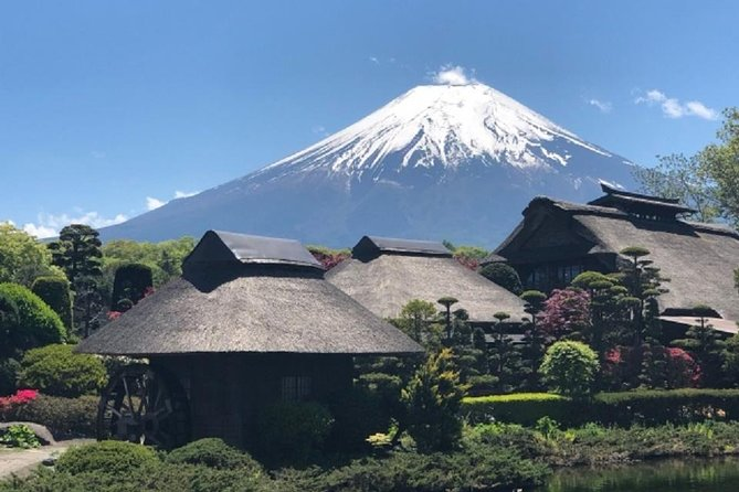 Would you like to enjoy Mt. Fuji, a UNESCO World Heritage Site?<br><br>You can enjoy a guided sightseeing tour only with your family and friends. <br><br>This is a tour using public transportation from Tokyo. Guides and you go to the destination by limited trains or Express buses.<br><br>This tour includes Lake Kawaguchi, Oshino Ninja Village and Oshino Hakkai.<br><br>You can also ride on Kachi Kachi ropeway to the observation platform where you can see the magnificent and beautiful Mt. Fuji.<br><br>For more information on destinations, please see the<br><br>what to expect, inclusions and exclusions section of this web page.