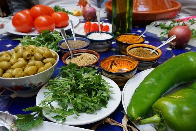 Vivencie o Marrocos: visite um zoco e cozinhe um tagine no centro de Marraquexe, Marrakech, cidade de Marrocos, MARROCOS