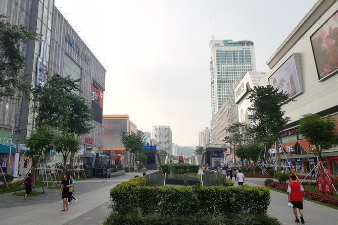The largest electronic world (SEG)-Huangqiang North in Shenzhen city , China<br><br>The area is reported as being the largest electronics market in China, and possibly one of the largest in the world, which stands to reason as Shenzhen is a major producer of electronics goods, and it's a city where many big brand tech gadgets are produced.
