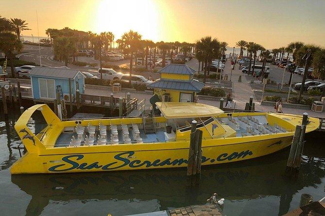 Sea Screamer Boat Cruise in Clearwater Beach with Transport, Orlando, FL, ESTADOS UNIDOS