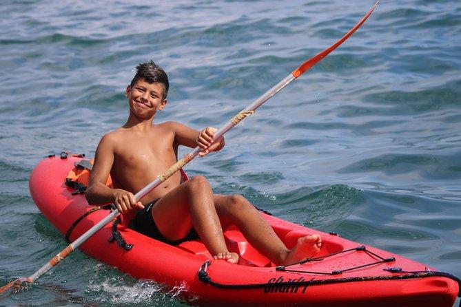 Tour de kayak em Lagos para visitar as grutas e snorkel., Lagos, PORTUGAL