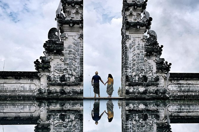 """Our most popular <br><br>BALI Full-day tourcovering iconic and picturesque locations throughout Bali islands. Immerse yourself in Balinese culture exploring <br><br>beautiful landmarks and magical views that are <br><br>Instagram-worthy. This one day tour covers a visit to: <br> • Famous Gates of Heaven at Lempuyang Temple <br> • Royal Water Palace of Tirta Gangga <br> • Tukad Cepung Waterfalls <br> • Tegalalang Rice Terraces in Ubud <br><br> Our tours are """" <br><br>All-inclusive"""" which cover Entrance Fees for visitors at the attractions, lunch over looking the volcano and mineral water during the tour and donations at landmarks. <br><br>Note: All antrance fees, temple donations and Lunch not Included for Bali Insta Tour Tukad Krisik option<br><br>Enjoy our compliments with """" <br><br>- WI-FI on board<br>- Air-conditioning in our luxurious transportation. <br><br>We provide a safe and enjoyable experience throughout the tour with our courteous and knowledgeable English speaking Drivers and Guides."""