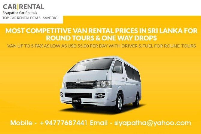 SLOD07-2 Colombo Airport Taxi - Airport to Arugam Bay-3 to 5 pax - Van, Negombo, Sri Lanka