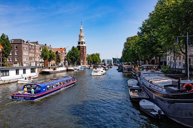 Blue Boat Company Amsterdam City Canal Cruise, Amsterdam, HOLLAND