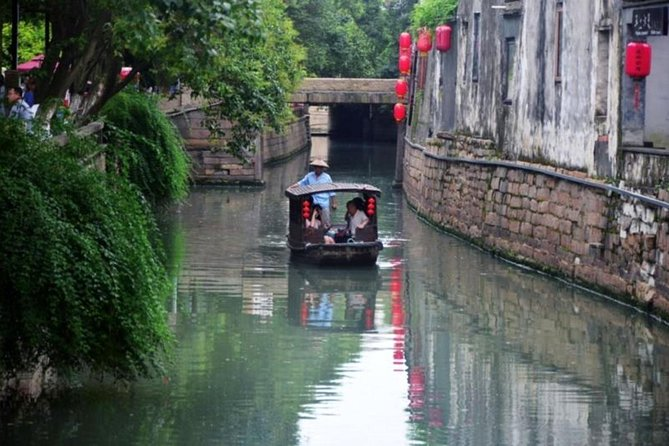 Suzhou Private Day Trip from Shanghai with Bullet Train Option, Shanghai, CHINA