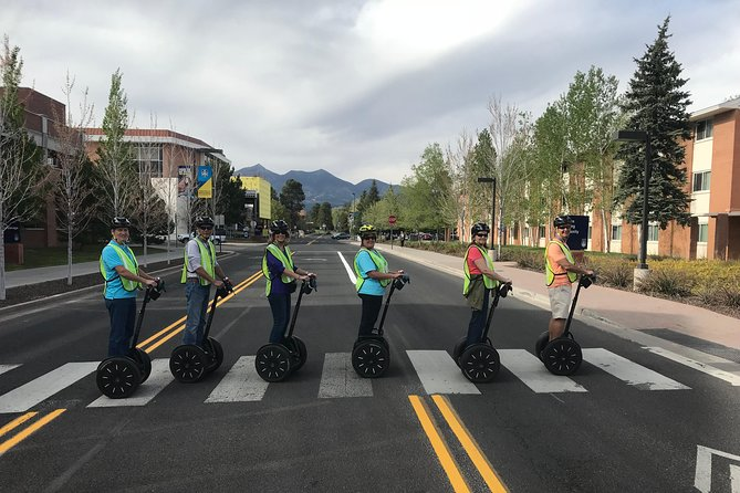 Tours tend to be around 90 minutes with Segway PT tours an extra half hour for training. Not only do guests experience the historic downtown Flagstaff area but also hear fun and entertaining stories from personable and interesting guides. All tour depart from the Flagstaff Sports Exchange located at 19 W. Aspen Ave. and return to the same location.