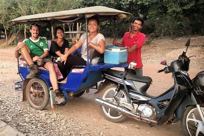 We got professional tour guide with safety tuk tuk driver to bring you guys around Angkor temples and beyond.