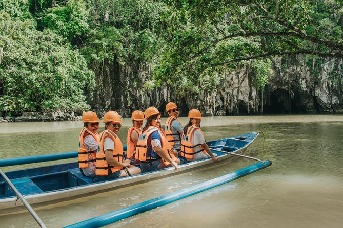 With this tour, you'll get to visit one of the longest navigable underground river in the world. With the help of your guide, you'll get to know more of Puerto Princesa and the wonderful flora and fauna found only in our island. Book this trip if you wish to have a fun-filled day in the city.<br><br>The activity includes pick up from your hotel within 15 kilometers of the airport. We will advise you of your exact pick up time before 7 PM the day prior so you know what time you'll prepare. Have a heavy breakfast because travel time from the city to the wharf is 2 hours. <br><br>Waiting time is inevitable considering that this is one of the most popular tours in Puerto Princesa. Despite this, your guide will endeavor to provide you with one of the most memorable trips in Palawan.<br><br>Lunch will be served at a local restaurant and after, you have the option to join a zip line flight and help the local community who organizes this activity. <br><br>You'll be back at your hotel at around 4 PM.