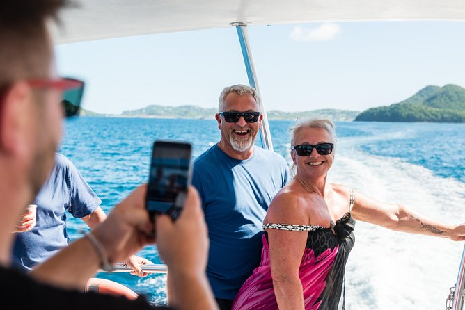 Join this full-day catamaran tour, where you will visit the town of Soufriere, the Pitons, and the volcano/sulphur springs. Observe Toraille Waterfall and Morne Coubaril Estate for a tour and a delicious local buffet lunch, follow by a cruise through Marigot Bay and Anse Cochon where you can swim & snorkel. Cruise the waters and make memories along the way!