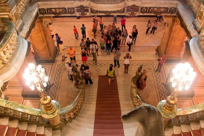 Tour al Teatro Nacional y la Biblioteca Nacional, Río de Janeiro, BRASIL