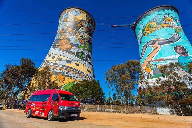 Recorrido turístico en autobús con paradas libres por la ciudad de Johannesburgo, Johannesburgo, SUDAFRICA