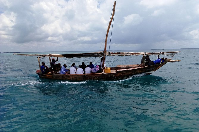 Kwale Island Dhow Sailing Tour from Zanzibar with Seafood Lunch, ,