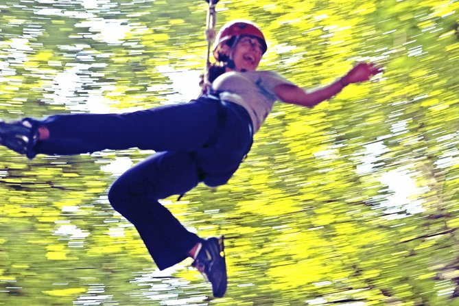 Soar through the trees on this 90 minute zip tour through a gorgeous wetland forest. Climb up 70' towers and fly though the air while seeing nature at its best.