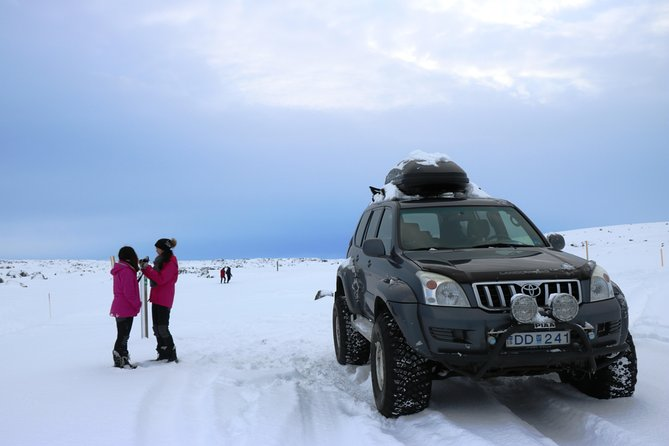 Embark on a 4x4 Jeep tour to Lake Mývatn and the surroundings. Explore the North of iceland and see enchanting places such as Goðafoss waterfall (waterfall of the gods), Dettifoss waterfall (Europe´s most powerful waterfall), hot spring and pseudo crater areas and more.