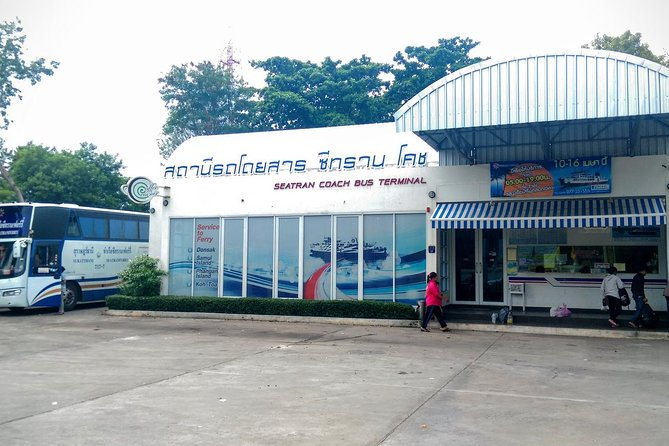 Surat Thani Town to Koh Phangan by Shared Minivan and Seatran Discovery Ferry, Surat Thani, Tailândia