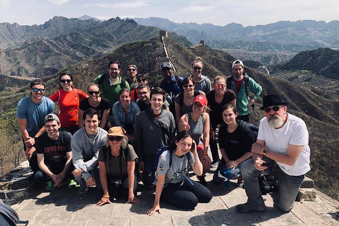 Recorrido de senderismo en grupo por la Gran Muralla desde Jinshanling a Simatai oeste, Beijing, CHINA