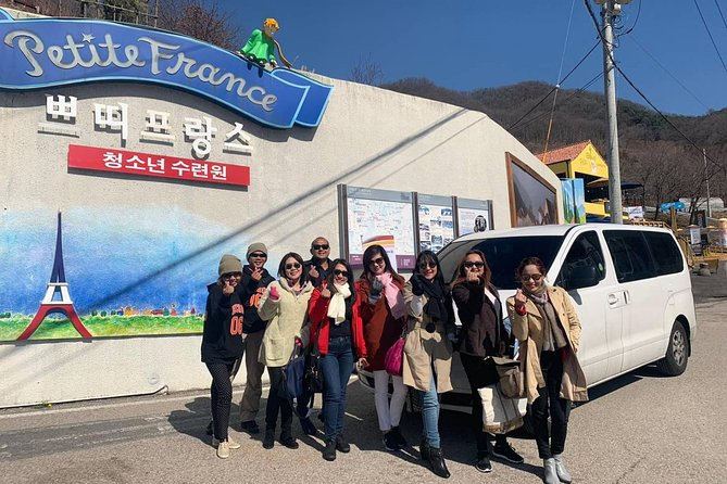 Some of the best attractions in Gapyeong, a city nearby Seoul, include Nami Island, Petite France and The Garden of Morning Calm.<br><br>Get away from. Seoul's hustle and bustle to enjoy Private van tour.<br><br>A vehicle tour without a guide will allow you to tour at a lower price. <br><br>Local drivers are available in English, so you can contact the driver conveniently.<br>** Adult/Children (3years above) are the same price.