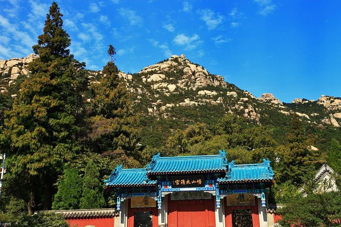 Private Qingdao Laoshan half day tour with one bottle of Tsingdao beer as gift, Qingdao, CHINA