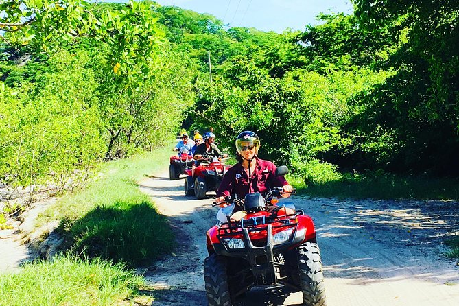 Full-Day Package: ATV 4x4, River Cave, Catamaran and Snorkeling from Punta Cana, ,