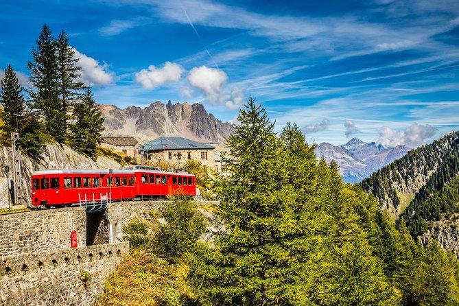 Escapada de un día a Chamonix Montblanc desde Ginebra con viaje opcional en teleférico y almuerzo, Ginebra, SUIZA
