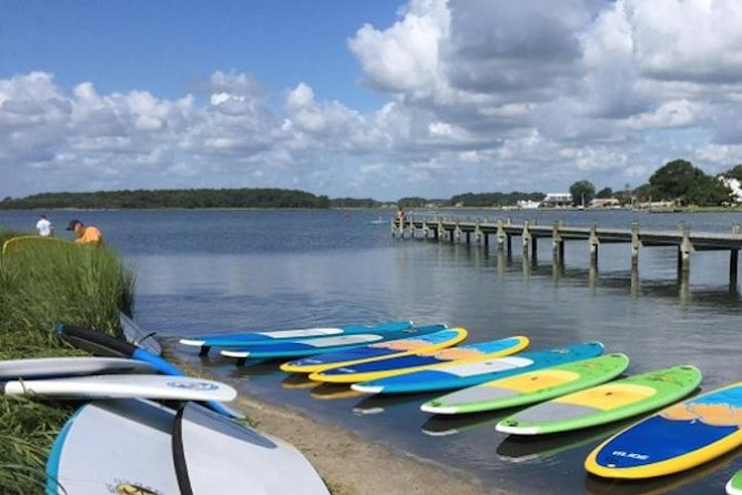 Get out and explore Rehoboth Bay witha 2-hour paddleboard rental! Cruise across the water as you enjoy the scenic surroundings and observe the local wildlife. Rentals are conveniently located and perfect for new or experienced paddleboarders.