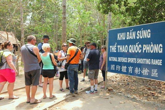 Cu Chi Tunnels Luxury Group Tour Half Day, Ho Chi Minh, VIETNAM
