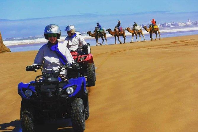 ATV Quad biking in Essaouira Beach, Big Dunes & Atlantic Coast tour, Esauira, Morocco