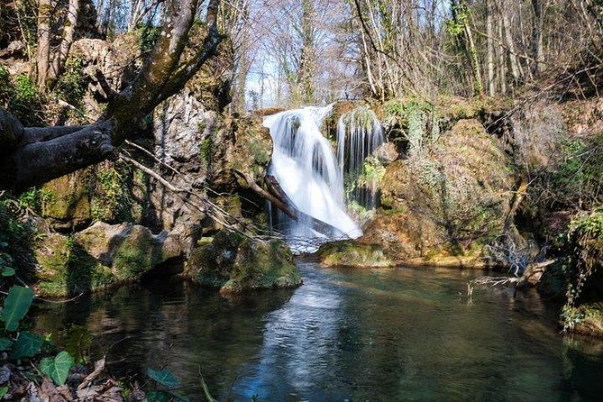 The tour proposes a hiking trip in the more easily accessible part of the Nera Gorges to some of the most famous objectives in the area: the Ochiul Beiului Lake and the Beușnița Waterfall.​ We will enjoy a peaceful hike through the forests, along the Bei river. On our way we will have the change to stop by other landmarks, such as the La Vaioaga waterfall, the Bei Citadel, which offers a great view over the Nera Gorges and the region, and the Rock Tunnels which will take us to the village Sasca Romana, where we can stop to have dinner.