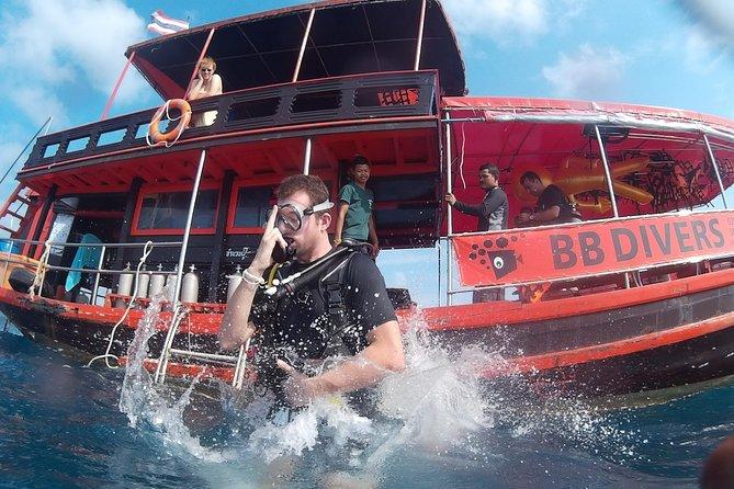 Curso de submarinismo en las aguas abiertas de Padi, conviértase en un submarinista en 3 días, Ko Chang, TAILANDIA