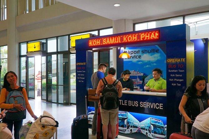 Surat Thani Airport to Koh Phangan By Phantip Bus and Lomprayah Catamaran, Surat Thani, Thailand