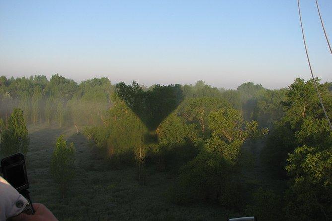 Paseo en globo aerostático sobre Guadarrama el Parque Regional de Guadarrama de Madrid, Madrid, ESPAÑA