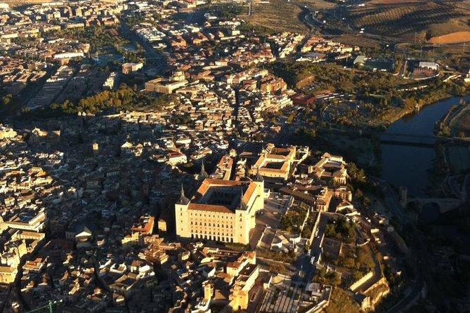 Paseo en globo aerostático sobre Toledo opcional con transporte desde Madrid., Toledo, ESPAÑA