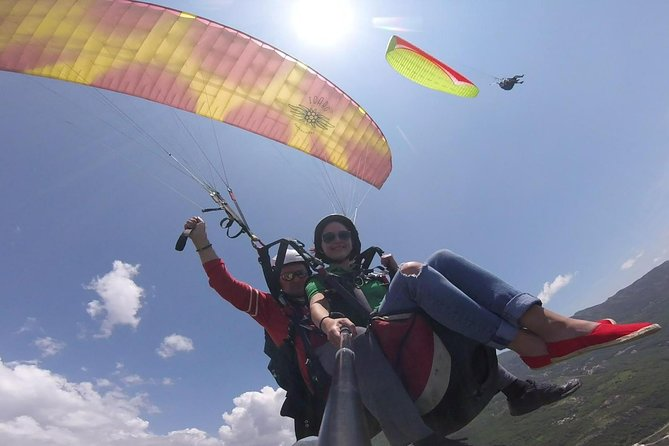 With a team of instructors of the highest category from Budva Paragliding Montenegro, you will make an incredible flying adventure, feel unique and get unforgettable impressions. <br><br>Everything is very simple and accessible to everyone from 3 years old and weighing no more than 120 kilograms. You do not need to have special physical training. <br><br>The event will last one hour. <br><br>The price includes transfer from the pick-up point and high-resolution video service.
