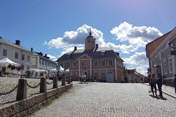 """Porvoo is the second oldest city in Finland. The town is famed for its """"Old Town"""", a dense medieval street pattern with wooden houses. It is the town of Johan Ludvig Runeberg and Albert Edelfelt."""