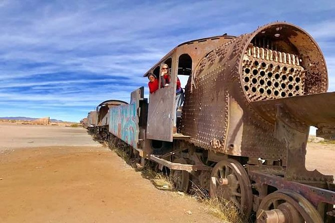 Private visit to the train cemetery from Uyuni, Uyuni, BOLIVIA