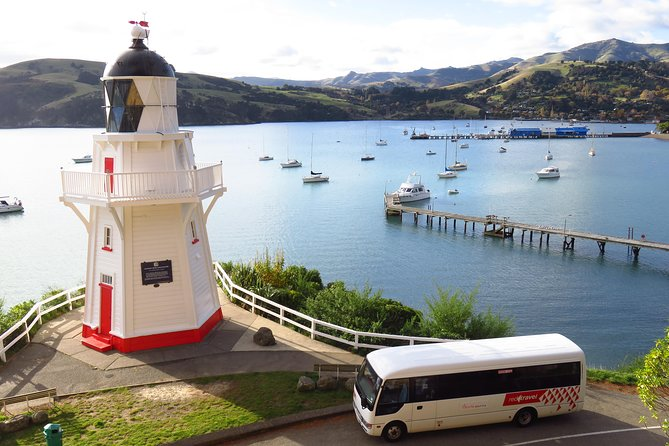 Akaroa Return Shuttle from Christchurch, Christchurch, New Zealand