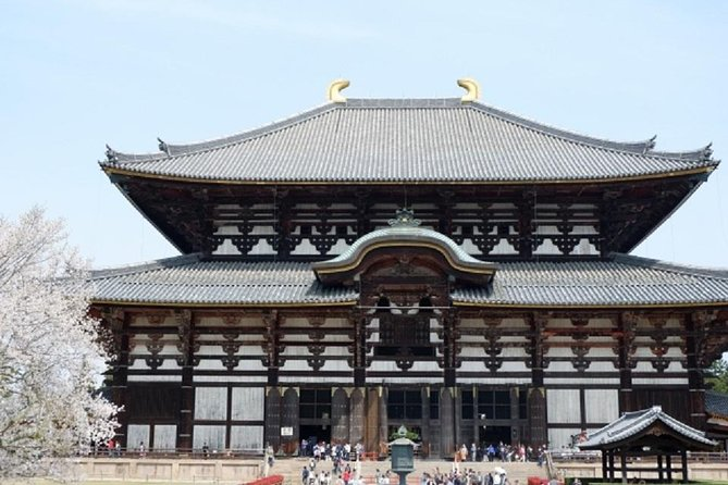 This is a Nara private tour using by public transportation from Kyoto.<br><br>The guide will pick you up at the hotel. No problem with train and bus transfers, as the guides are with you!<br><br>The destinations of the tour includes Todai-ji Temple, Kasuga Taisha, deer park, and other UNESCO World Heritage Site temples!<br><br>For details of the tour, you can look at the what to expect section and inclusions excursions section of this web page.