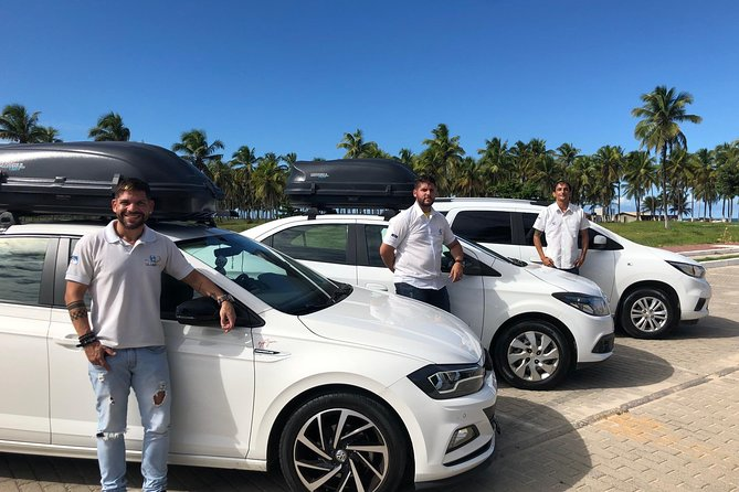 Finish your trip the way you deserve it and book this transfer from your hotel in Porto de Galinhas, Muro Alto or Serrambi the easy way! <br><br>Does your flight leave late afternoon or at night and you have to check out your hotel?? No problem, book this transfer that you will enjoy more of holiday and Pernambuco. Finish your vacation the best way possible.<br><br> Enjoy this transfers from your hotel in Porto de Galinhas, Muro Alto or Serrambi to the International Airport of Recife by a double air-conditioned vehicle which has tv, dvd, wifi. <br><br> This service will offer you safety, punctuality and comfort.