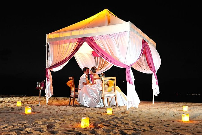 Dinner with Tent is a popular site for having a romantic dinner among the couple and newlywed in Bali. Under the private tent, adore the outstanding sunset on the coastline while showing your love to your couple! Furthermore, consisting of six sets of deluxe dishes, Ma Joly restaurant would give you an opportunity of having a romantic sunset dinner on Kuta Beach. Still, with the romantic coastline atmosphere, Ma Joly restaurant offers delicious fresh and luxurious dishes as well as delicately flavored. Thus, Ma Joly restaurant is a most-wanted Balinese romantic restaurant among the tourists.
