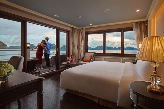 (Official) Athena Luxury Cruise - 02 days 01 night program, Halong Bay, VIETNAM