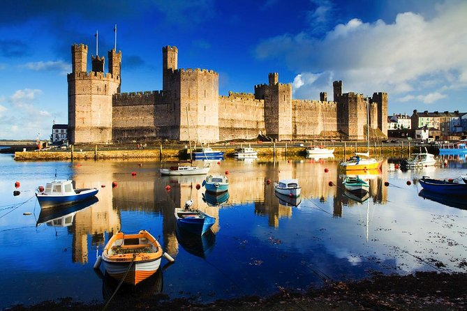 Explore the three most famous castles - Conwy, Dolbadarn, and Caernarfon on this day tour of Wales. You'll also visit the beautiful Snowdonia National Park, the National Slate Museum and even make a stop at Britain's Smallest House! This tour is the perfect combination of history, heritage, natural beauty and fun!