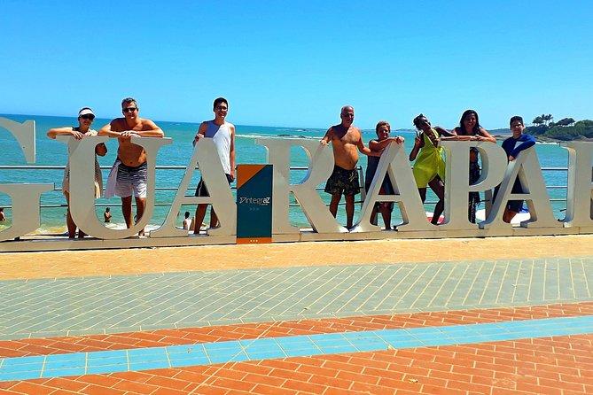 Tour praias de Guarapari, Vitória, BRASIL
